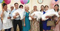 Тройня родилась в семье Тургамбаевых - жителей Алматинской области
