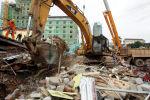 Обрушение здания в Камбодже