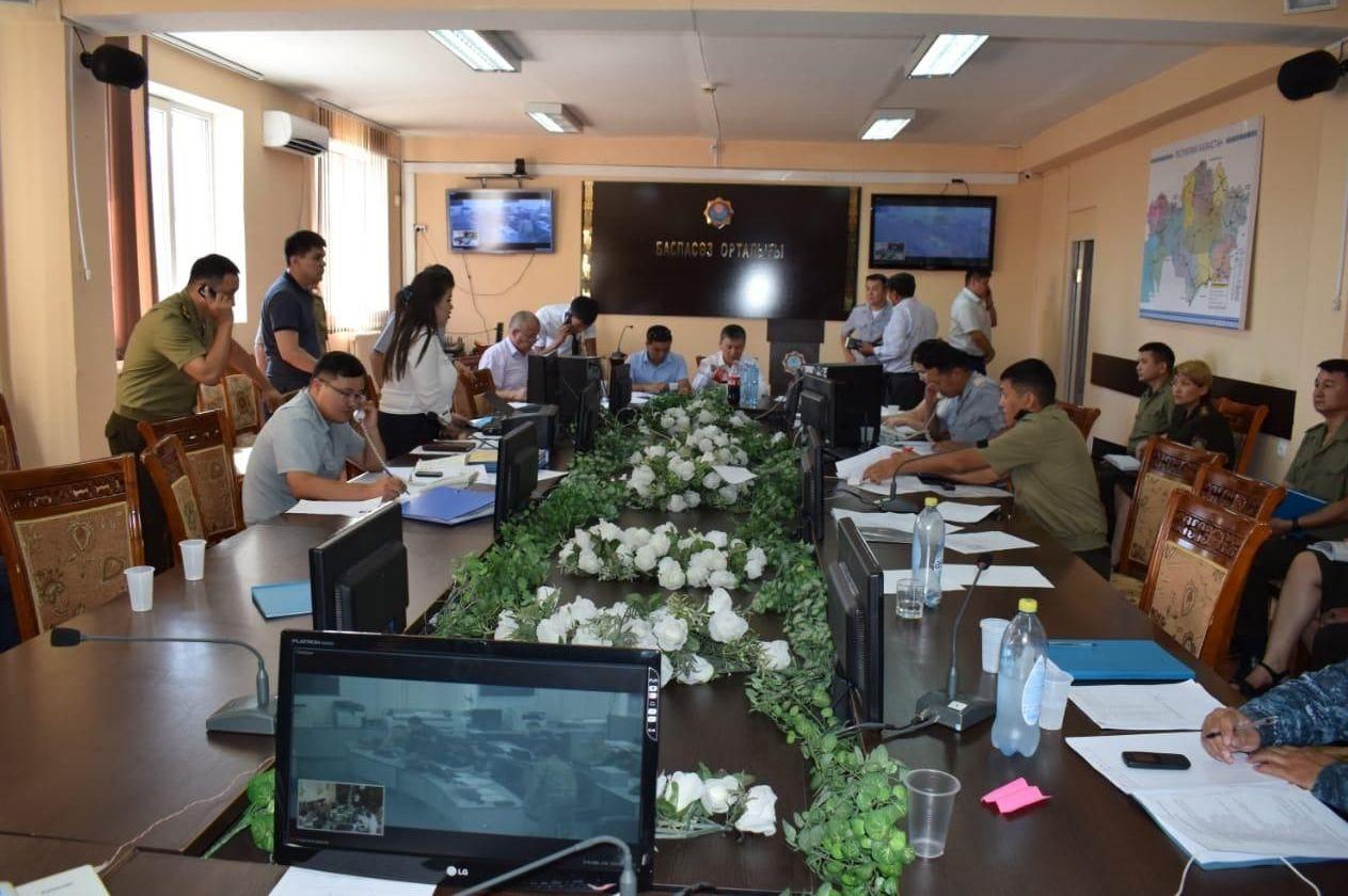Оперативный штаб открыт после взрыва в Арыси