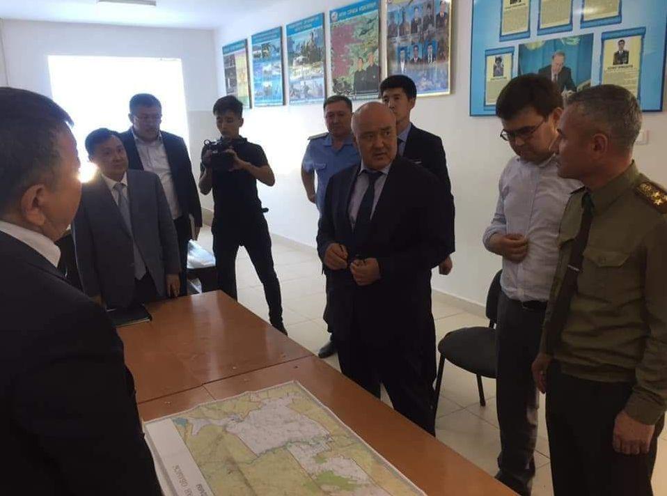 Аким Туркестанской области Умирзак Шукеев выехал на месте ЧП в Арысь