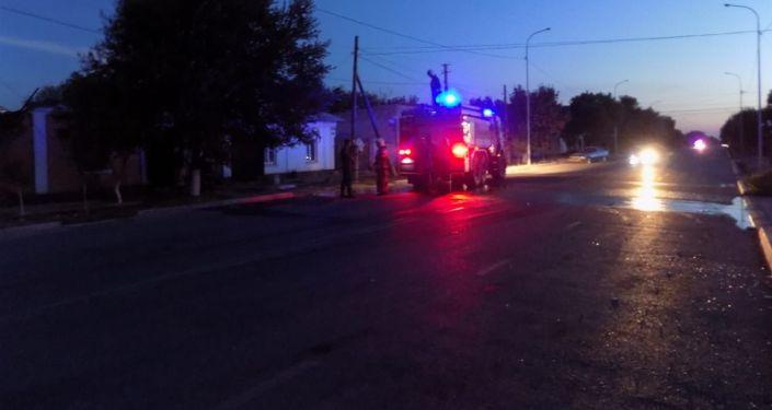 Бойцы Национальной гвардии круглосуточно обеспечивают надежную охрану общественного порядка и безопасности на улицах города Арысь