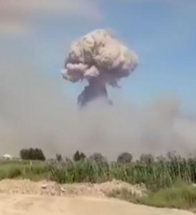 Взрывы в Арыси