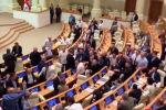 Потасовка между депутатами в зале заседаний парламента Грузии - видео