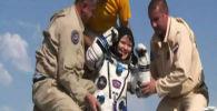 Возвращение МКС на землю