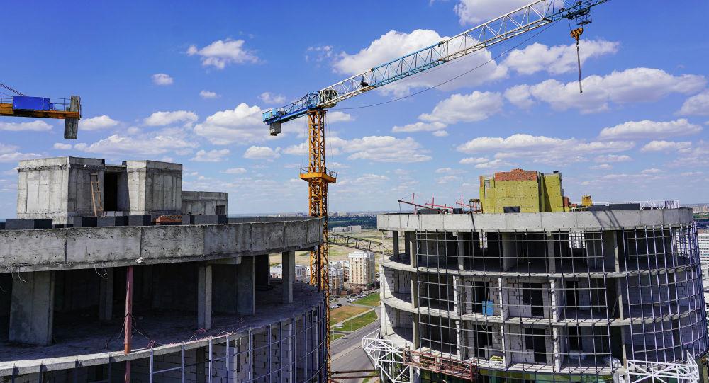 Строительство зданий в столице