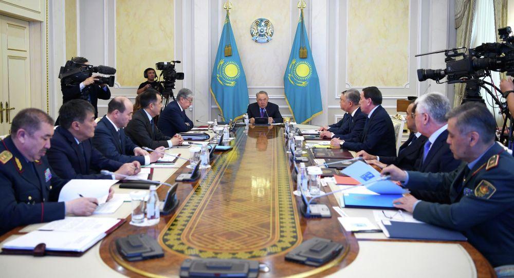 Cостоялось заседание Совета Безопасности под председательством Елбасы Нурсултана Назарбаева