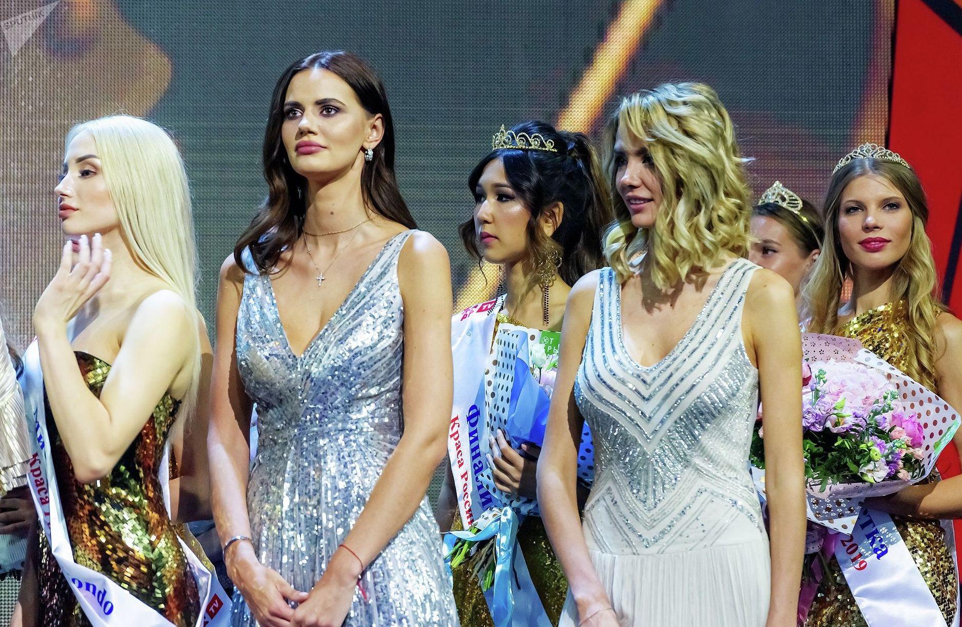 Участницы конкурса Краса России