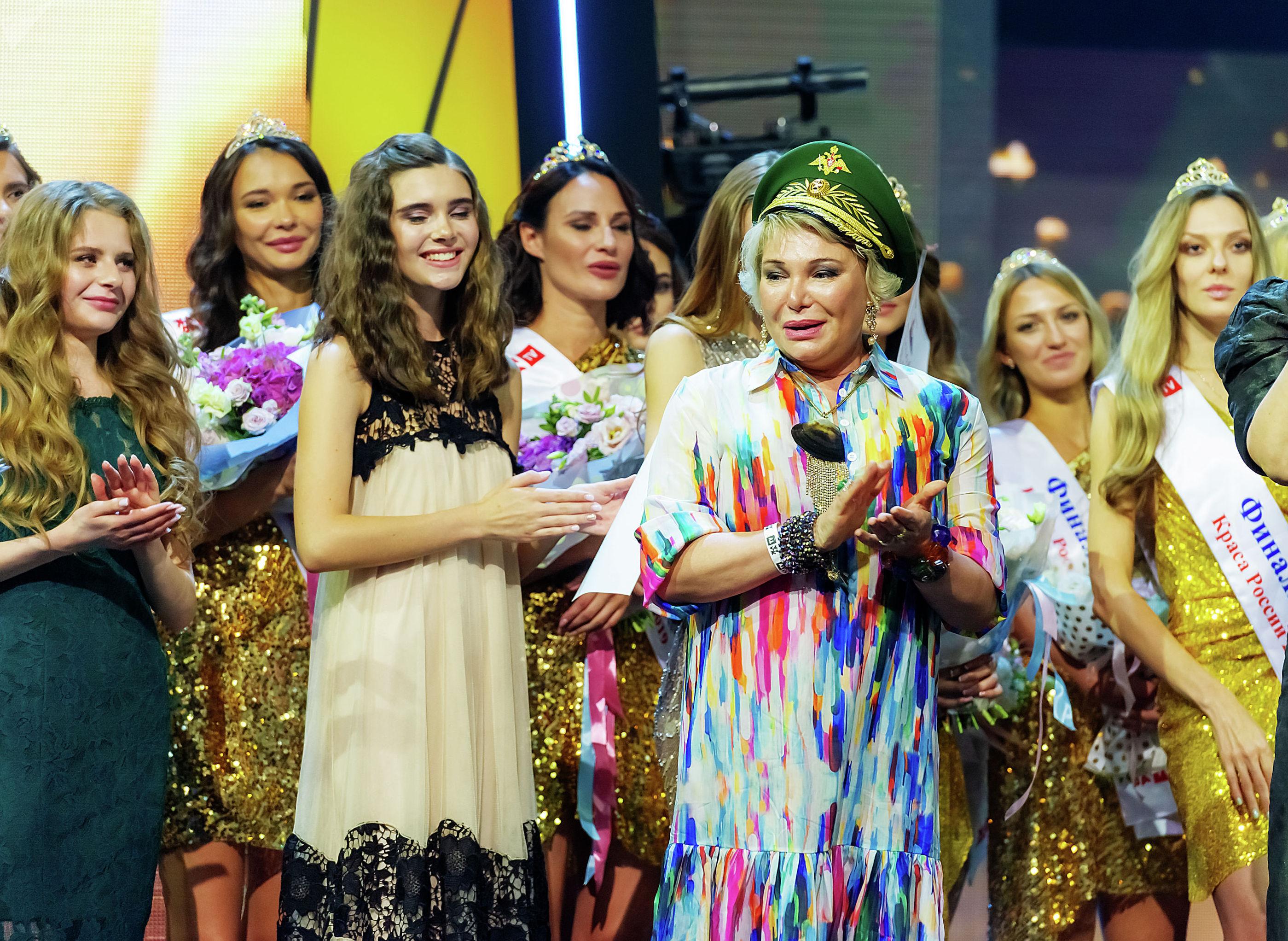Организатор конкурса красоты Краса России Татьяна Андреева