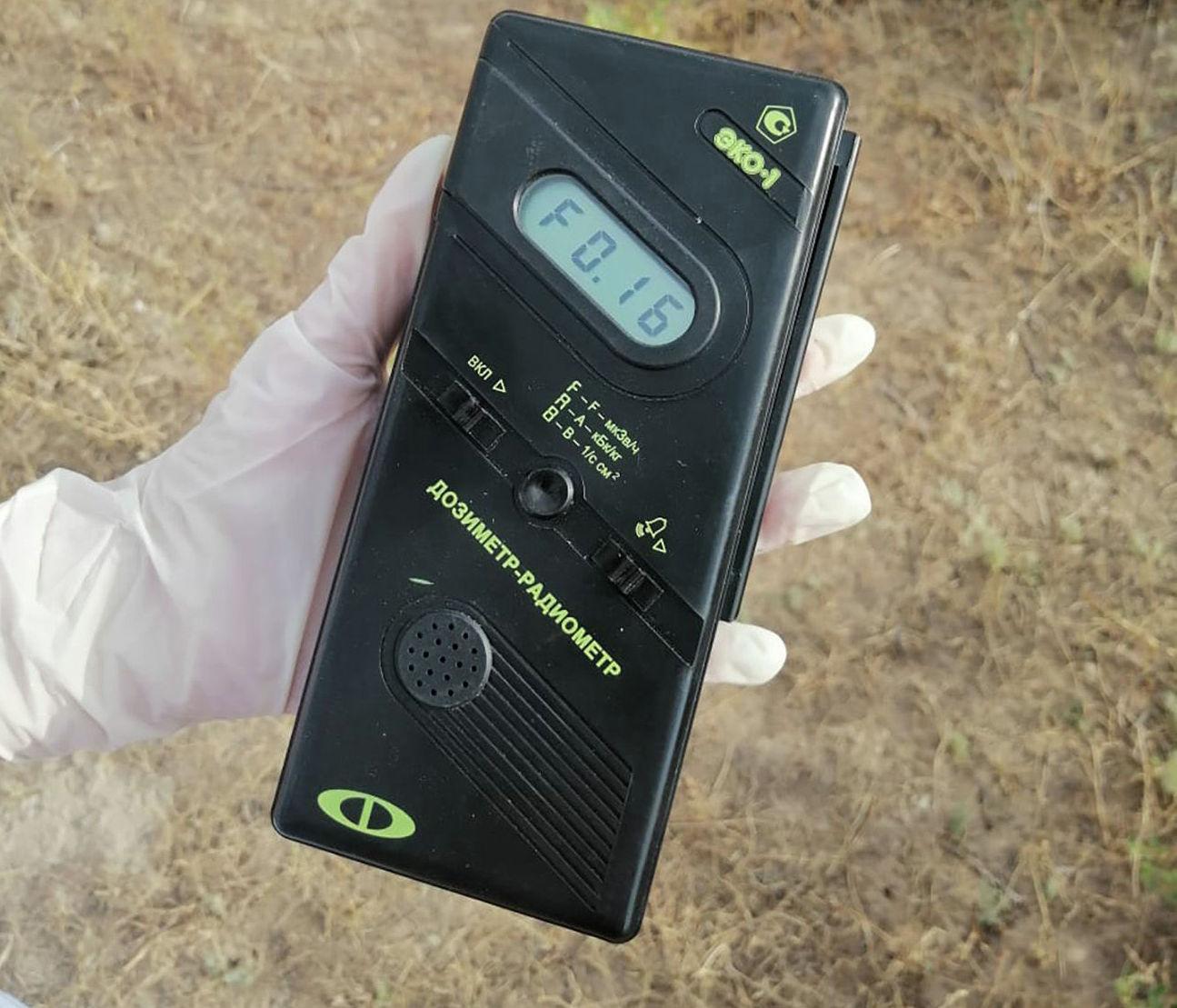 Специалисты провели исследование состояния радиационного фона и воды на территории Арыси