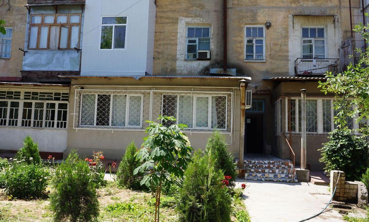 Двор в Ташкенте