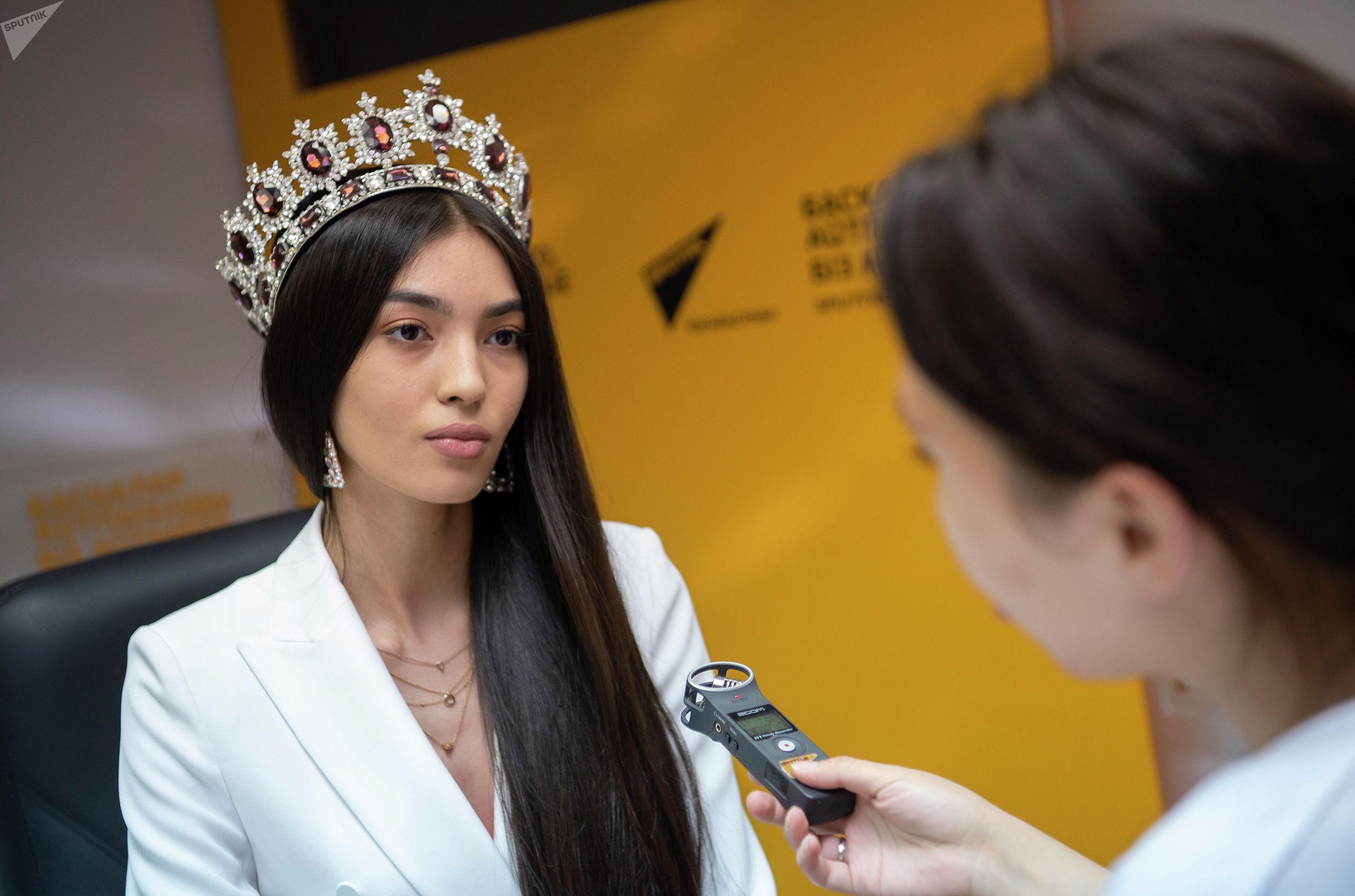 Интервью с Мисс Казахстана Мадиной Батык