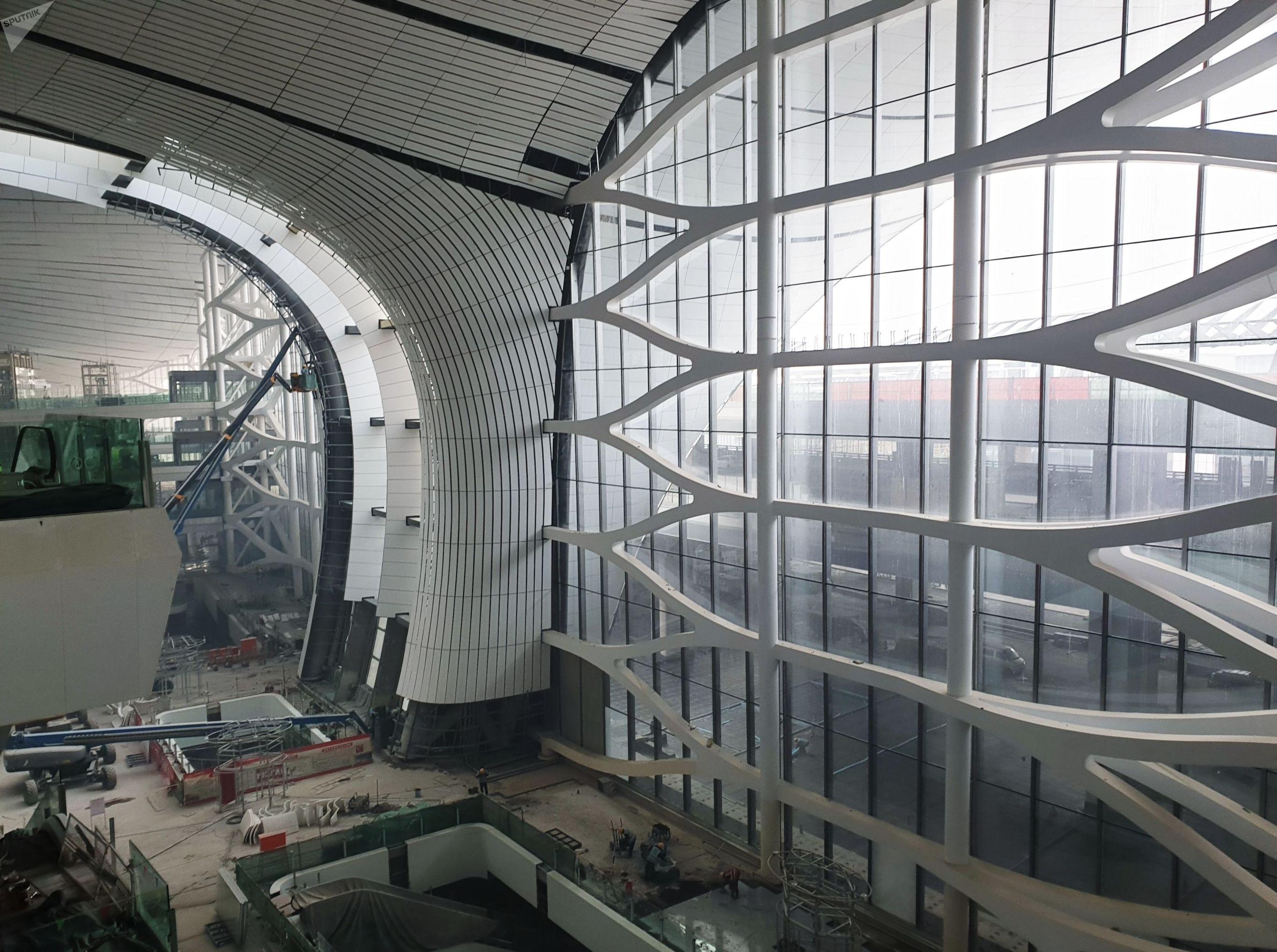 Новый международный аэропорт Пекина Дасин