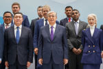 Президент Токаев на открытии здания Суда и Международного арбитражного центра МФЦА