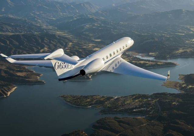 Реактивный самолет Gulfstream G650ER