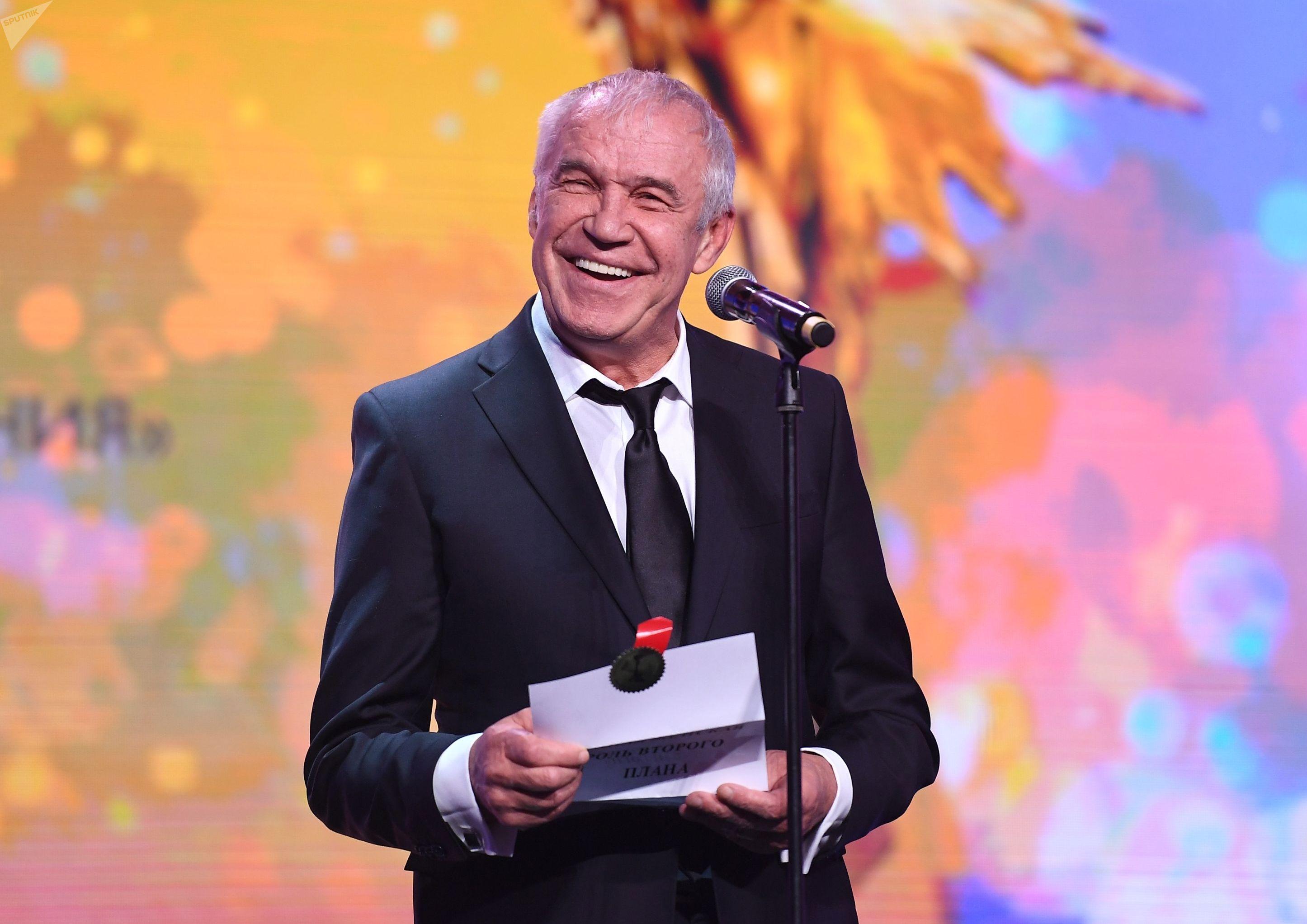 Сергей Гармаш на XXXII церемонии вручения кинематографической премии Ника