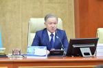 Нурлан Зайруллаевич Нигматулин - председатель мажилиса Парламента Республики