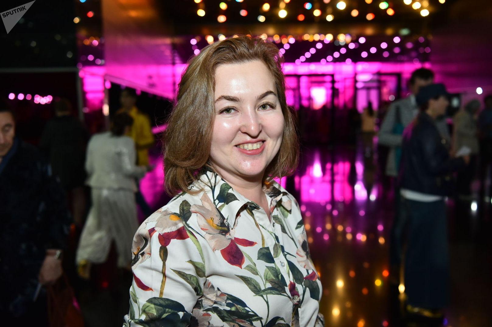 Зрительница Динара Рыскулова