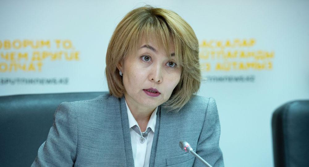 Управляющий директор Фонда социального медицинского страхования Забира Оразалиева