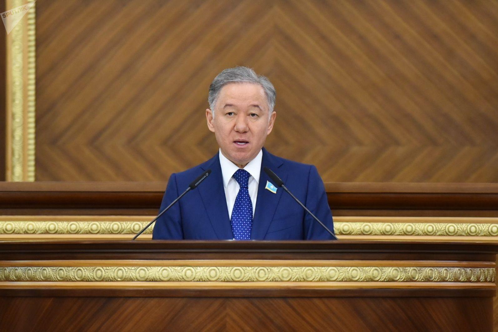 Председатель мажилиса парламента Республики Казахстан Нурлан Нигматулин