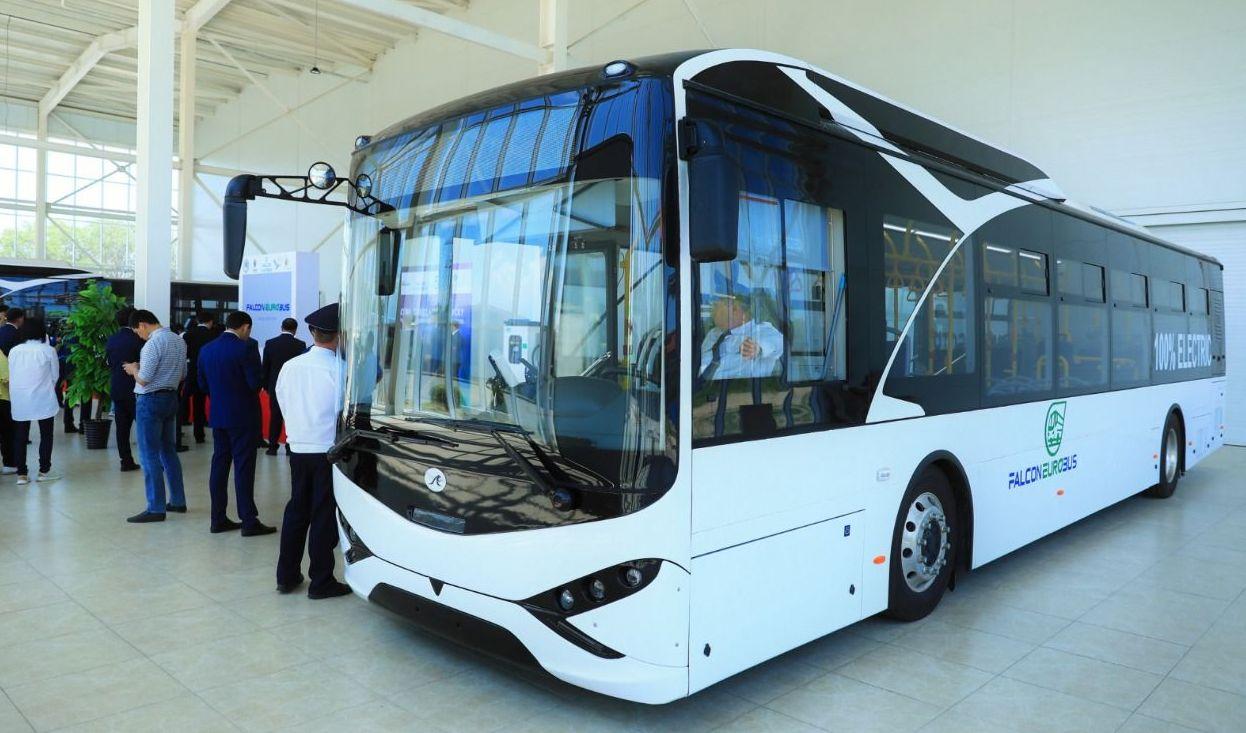 Электроавтобус Falcon Eurobus