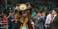 Казахстанский боксер-профессионал Канат Ислам нокаутировал своего соперника – доминиканца Хулио де Хесуса