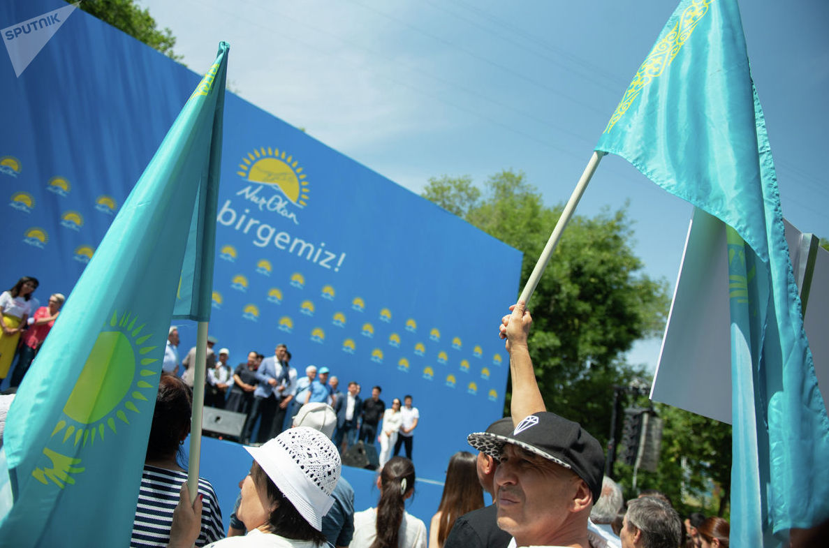 Мирный митинг против провокаций и войны прошел в Алматы
