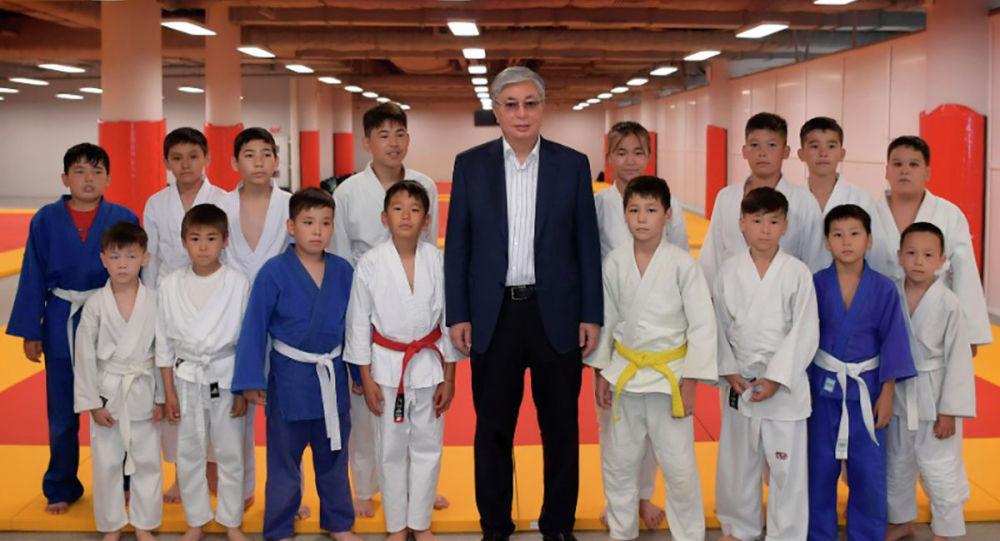 Токаев открыл дворец единоборств в Нур-Султане