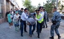 Астанадағы заңсыз митинг