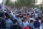 Несанкционированный митинг в День столицы