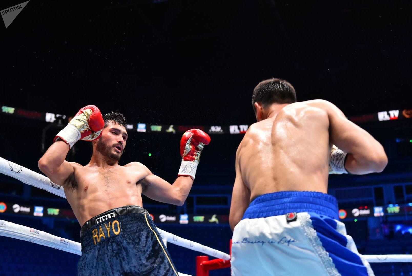 Вечер бокса в День столицы