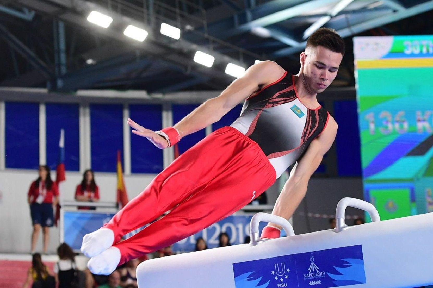 Гимнаст Нариман Курбанов