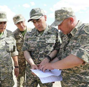 Қорғаныс министрі Нұрлан Ермекбаев Арысқа келді