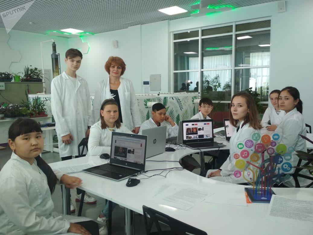 Школьников из  Петропавловска выращивают тропическую рыбу для ресторана