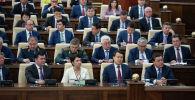 Члены правительства Казахстана