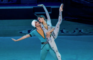 Ведущие солисты Театра Астана Балет - Татьяна Тен и Фархад Буриев