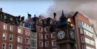 Огонь перекинулся с крыши на квартиры ЖК Британский квартал в Нур-Султане