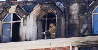 Ситуация после пожара в ЖК Британский квартал