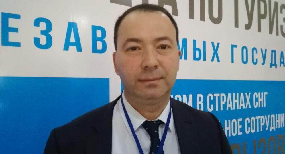 Проректор Международного университета туризма Шелковый путь Баходир Тураев