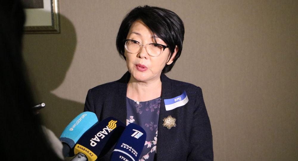 Директор департамента науки и человеческих ресурсов Минздрава Сауле Сыдыкова