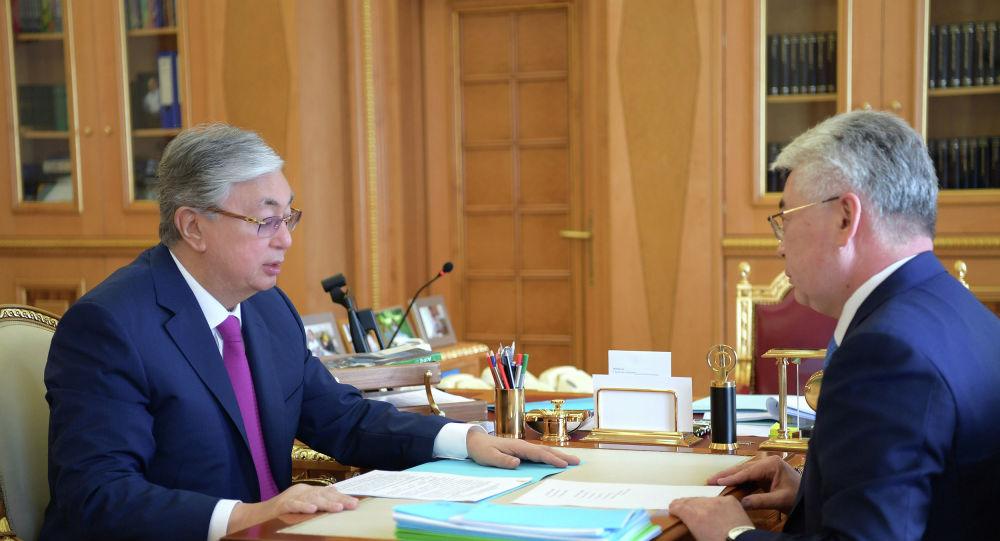 Президент Казахстана Касым-Жомарт Токаев принял министра иностранных дел Бейбута Атамкулова