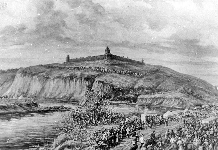 Торговля у крепости Святого Петра