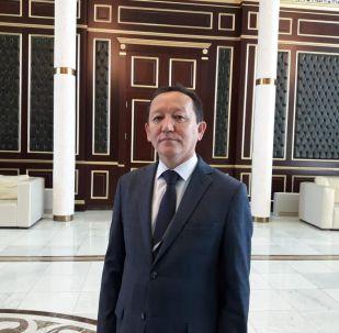 Председатель правления международного аэропорта Нурсултан Назарбаев Радильбек Адимолда