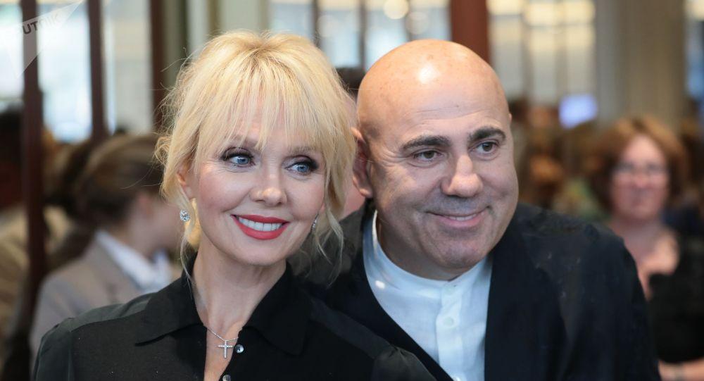 Певица Валерия и продюсер Иосиф Пригожин, архивное фото
