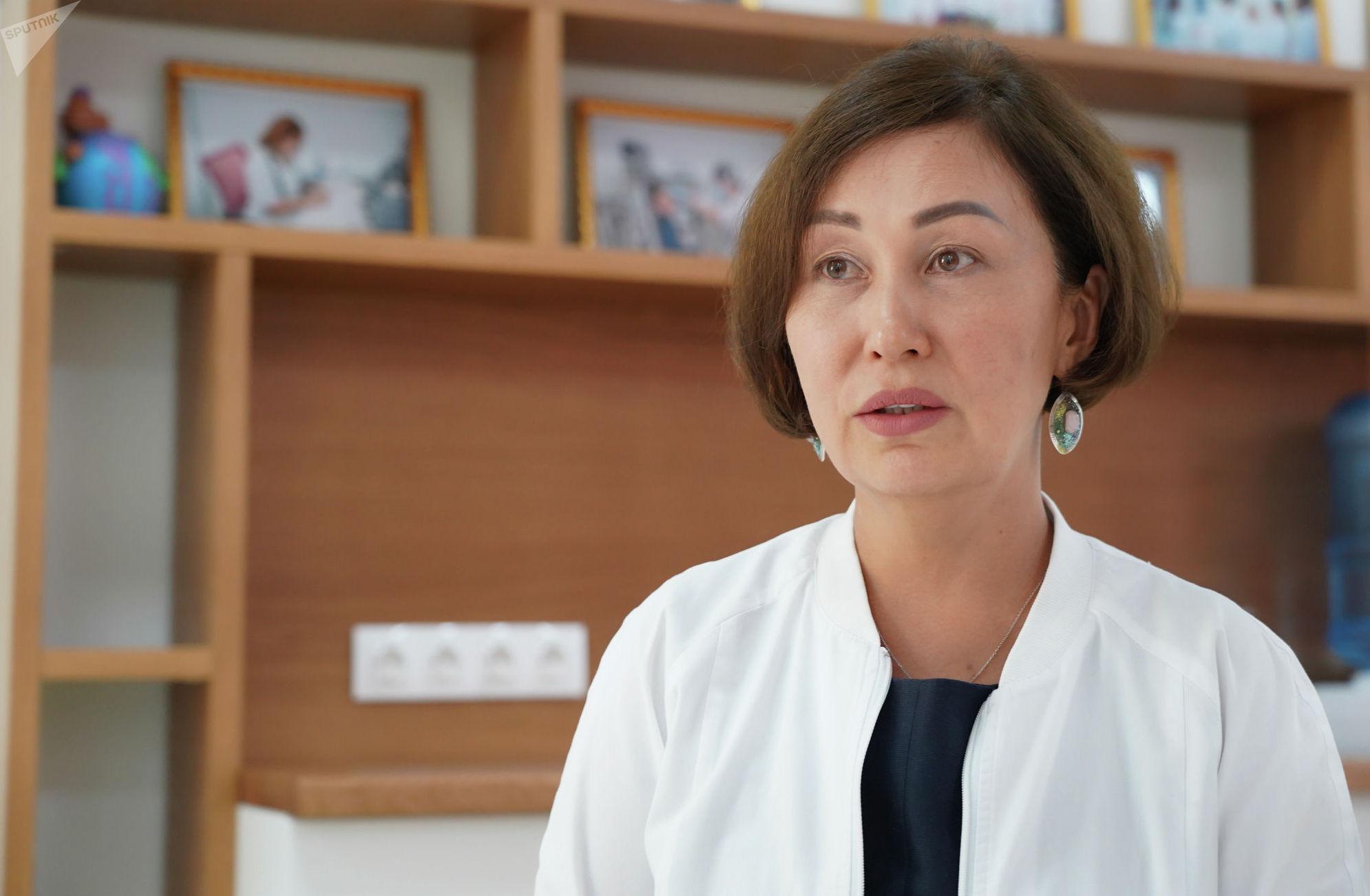 Аллерголог-иммунолог Галия Тусупбекова