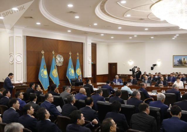 На расширенном заседании правительства