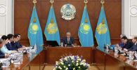 Президент Казахстана Касым-Жомарт Токаев на расширенном заседании правительства