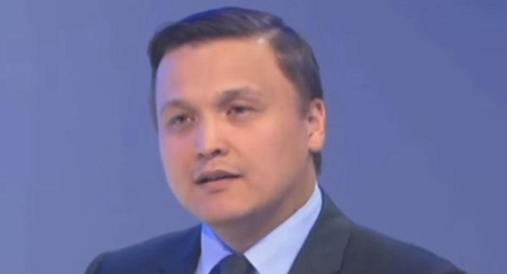 И.о. директора департамента макроэкономического анализа и прогнозирования министерства национальной экономики Казахстана Аскар Джаппаркулов