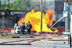 Взрыв на газопроводе, иллюстративное фото