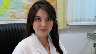Инженер-синоптик Казгидромета Жанар Серлибаева