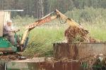 Экскаватор для очистки озер и водохранилищ